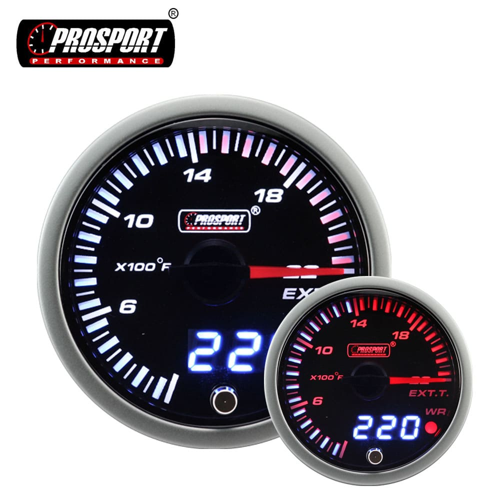 52mm Prosport Stepper Motor Driven Warning Gauges