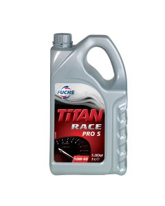 Fuchs Titan Race Pro S Fully Synthetic 10w-50 Oil  5 Litres