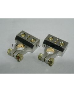 Superior Quality Nickel Plated Battery Terminals (A Pair)