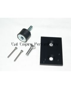 CNC Mounting Bracket and Anti Vibration Mount For MAC Type 3 Port Boost Solenoids in Black
