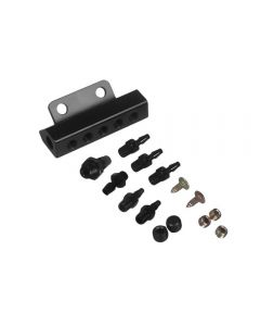 Vacuum Block Intake Manifold 6 Port Kit 1/8 NPT