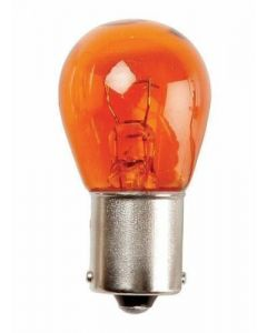 382 Replacement 12V 21W Amber Indicator Straight Bayonet Single Filament  Pack of 2 Bulbs