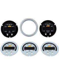 AEM X-Series Gauge Dial Accessory Kit