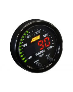 AEM X-Series Can-Bus Oil and Water Temperature Gauge Kit