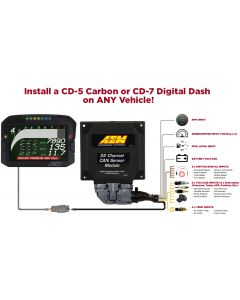 AEM 22 Channel CAN-BUS Sensor Module for AEM CD Digital Dashes
