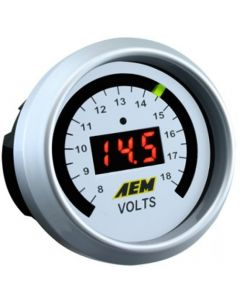 AEM 52mm DC Voltage Display Gauge