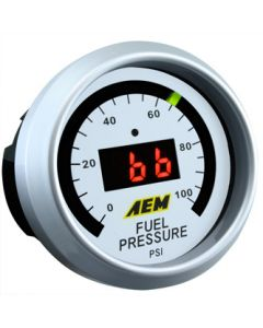 AEM 52mm 0-100PSI Fuel Pressure Display Gauge