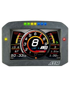 AEM CD-7F Carbon Case Fully Programable Digital Flat Racing Dash Display