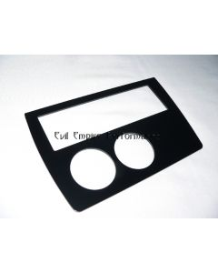 Twin 52mm Gauge Alloy Audio Surround Panel