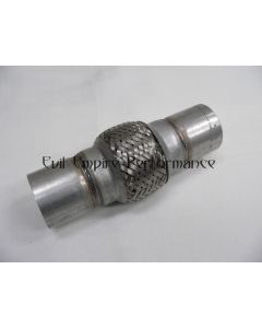"""Replacement Short 2.5"""" Flexi Joint with weldable Steel Extensions"""