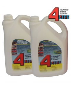 4-Life Advanced Engine Coolant/Antifreeze 10 Litres