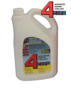 4-Life Advanced Engine Coolant/Antifreeze 5 Litres