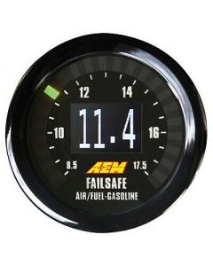 AEM X-Series Can-Bus Wideband Air Fuel Ratio and Boost Failsafe AFR Gauge Kit