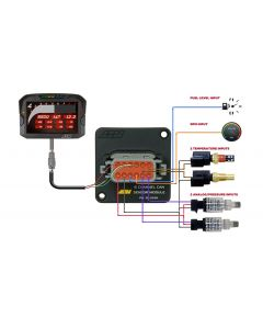 AEM 6 Channel CAN-BUS Sensor Module for AEM CD Digital Dashes