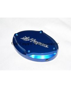 Hayame Blue Alloy Radiator Cap Cover