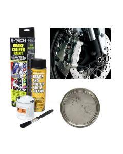 E Tech Brake High Temperature Caliper Paint Silver