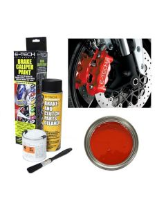 E Tech Brake High Temperature Caliper Paint Red