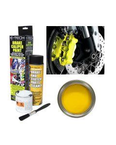 E Tech Brake High Temperature Caliper Paint Yellow