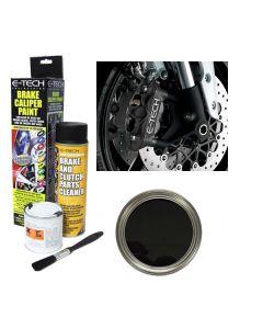 E Tech Brake High Temperature Caliper Paint Black