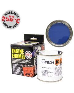 BLUE Engine Enamel Paint Heat Resistant High Temp 250ml