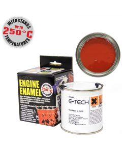 RED Engine Enamel Paint Heat Resistant High Temp 250ml