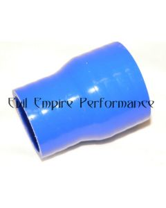TD04 STD Compressor Housing Housing 41mm to 51mm Intercooler Reducer Pipe Blue