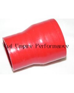 TD04 STD Compressor Housing Housing 41mm to 51mm Intercooler Reducer Pipe Red