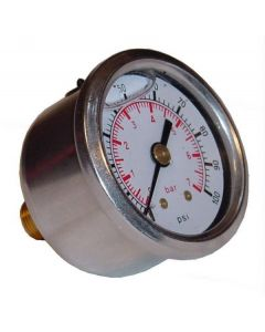 "1.6"" Fuel Pressure Gauge Fluid Dampened 1-7 Bar"