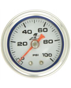 Aeromotive Fuel Pressure Gauge  0-100 Psi