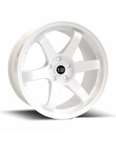 "Rota White Grid 18""x8.5"" Wheel Package"