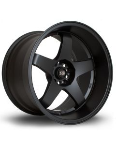 "Rota Flat Black Drift GTR 18""x10.5"" and 18""x8.5"" Deep Dish Wheel Package"