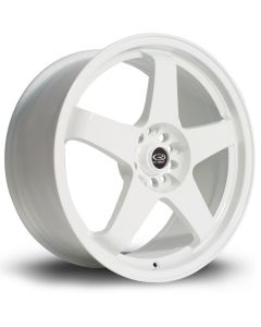 "Rota White GTR 18""x8.5"" Wheel Package"