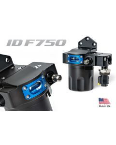 Injector Dynamics IDF750 Professional Fuel Filter System Black Finish NEW VERSION