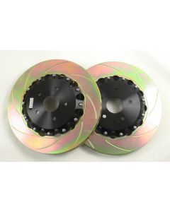 K Sport/D2 Replacement 330mm Rear Disc Rotors ( A Pair )