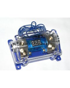 ANL Fuse Holder and Digital Battery Voltage Readout