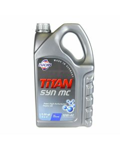 Fuchs TITAN SYN MC 10w-40 High Performance Semi-Synthetic Engine Breaking In Oil
