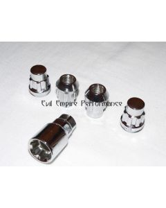Locking Wheel Nut Kit Chrome To Suit Mitsubishi GTO and 3000GT