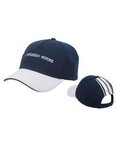Mitsubishi Branded Blue Base Ball Cap