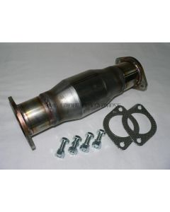 "200 Cell Stainless Steel Catalytic Converter for GTO Twin Turbo with 3"" Flanges"