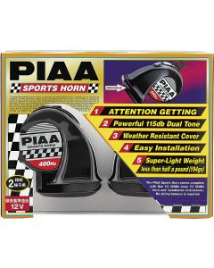 PIAA Dual Tone 500/600Hz Sports Horn Kit
