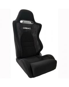Corbeau RS2 Reclining Bucket Seat Black