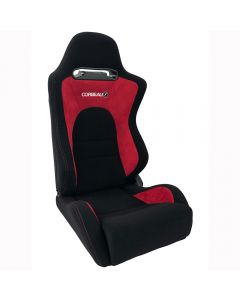 Corbeau RS2 Reclining Bucket Seat Red