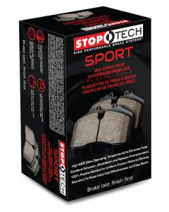 GTO and 3000GT All Years Stoptech Sport Front Brake Pads