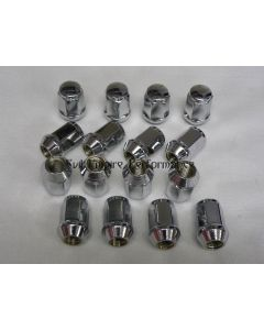 Tapered Chrome Nuts For After Market GTO/3000GT Wheels