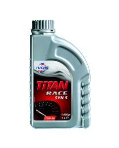Fuchs Titan Race Syn 5 GearBox Oil  75w90  1 litre